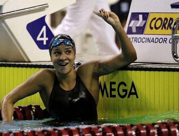 Joanna Maranhão Troféu Maria Lenk (Foto: Satiro Sodré / Agif)