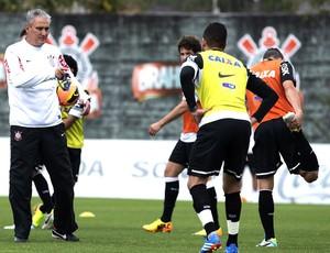 Tite treino do Corinthians (Foto: Daniel Augusto Jr. / Agência Corinthians)