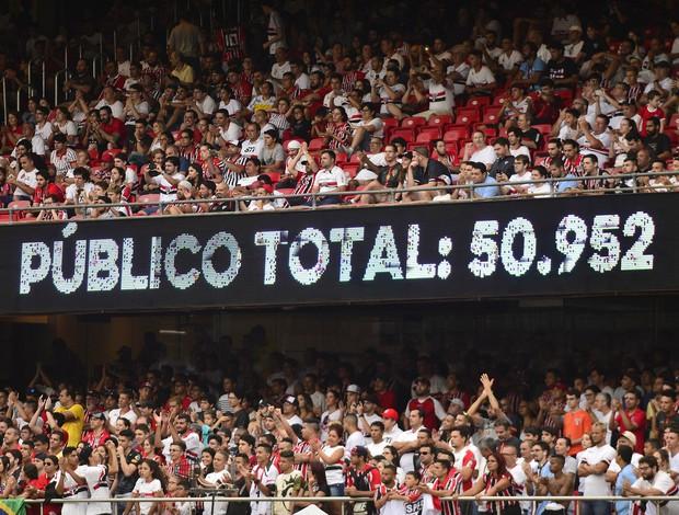 Público Total São Paulo x Ponte Preta