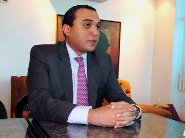 Ney Lopes Júnior, prefeito de Natal, encaminhará projeto de lei para apreciação dos vereadores (Foto: Ricardo Araújo/G1)