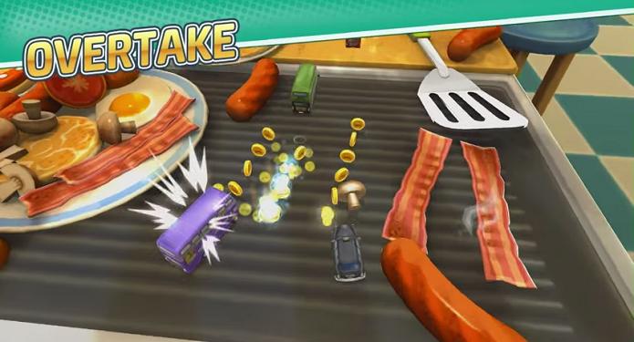 Modo Overtake de Toybox Turbos (Foto: Reprodução/YouTube)