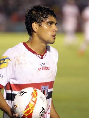 Daniel Borges, ala direito do Botafogo-SP (Foto: Rogério Moroti/Ag. Botafogo)