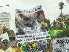 Protestos mobilizam moradores das principais cidades do Sul de Minas