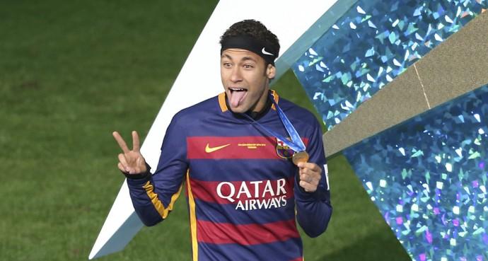 Neymar Barcelona River Mundial de Clubes (Foto: AP)