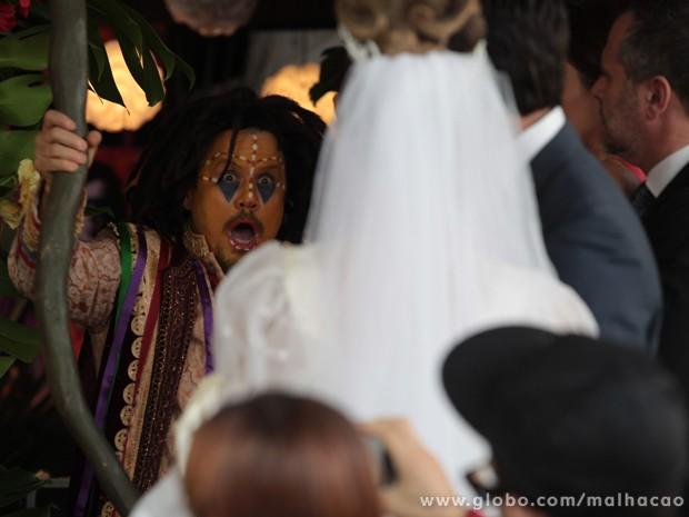 Olha a cara do guru, glr!!!! KKKKKKKKKKK (Foto: Malhação / Tv Globo)