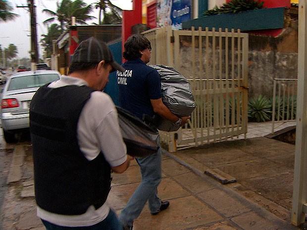 Operação Teia de Aranha prende empresários por sonegação fiscal (Foto: Imagem/ TV Bahia)