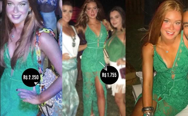 5703b1b95 EGO - Marina Ruy Barbosa usa guarda-roupa de verão avaliado em R$ 40 ...