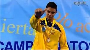 Nadador João Victor Pena quebra recorde sul-americano juvenil (Foto: Arquivo pessoal)