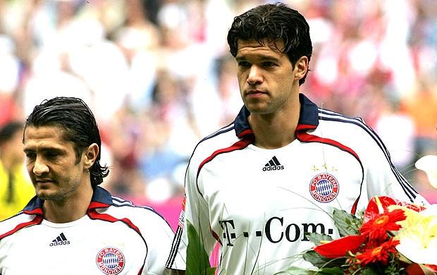 Ballack no Bayern de Munique (Foto: AFP)