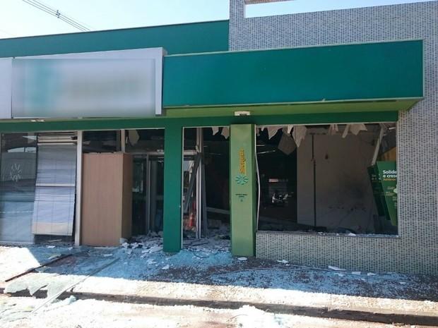 Banco em Jataizinho ficará fechado por tempo indeterminado (Foto: Alberto D´Angele/RPC)