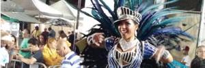Mocidade Azul é a escola de samba campeã do carnaval de Curitiba (Divulgação/FCC)