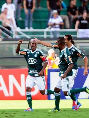 Marcos Assunção gol Palmeiras (Foto: Marcos Ribolli / Globoesporte.com)