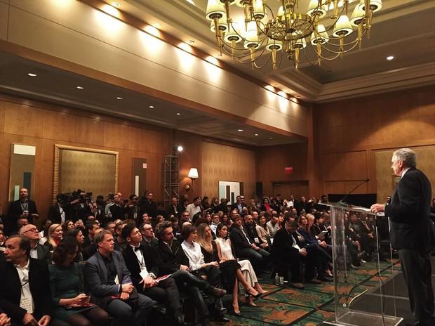 Grazi Massafera no Emmy Internacional (Foto: Reprodução/Instagram)