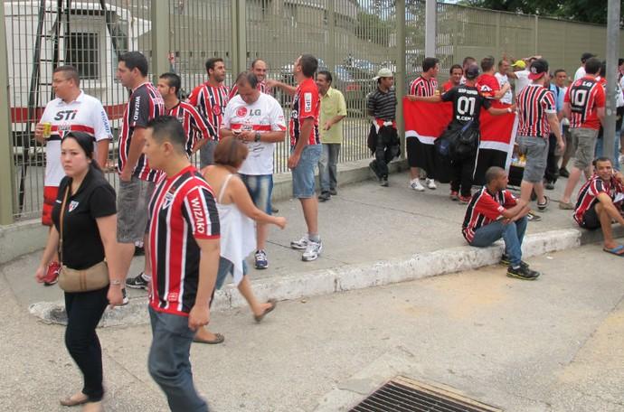 torcida São Paulo x Ponte Preta (Foto: Carlos Augusto Ferrari)