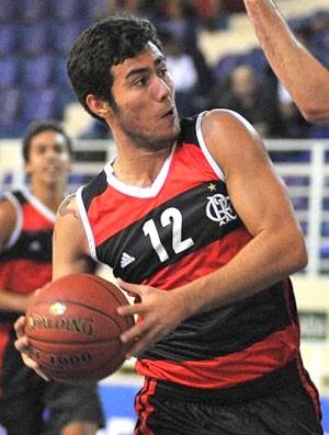 Diego basquete Flamengo (Foto: João Pires / LNB)