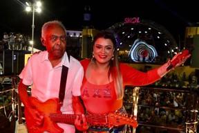 Preta Gil e Gilberto Gil (Foto: Fred Pontes)