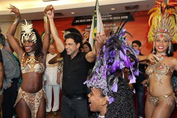 Zezé Di Camargo e Luciano (Foto: Alex Palarea/AgNews)