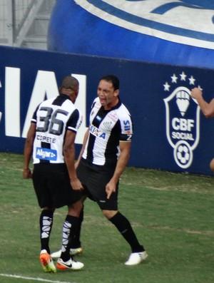 Ricardo Oliveira, Santos x Cruzeiro