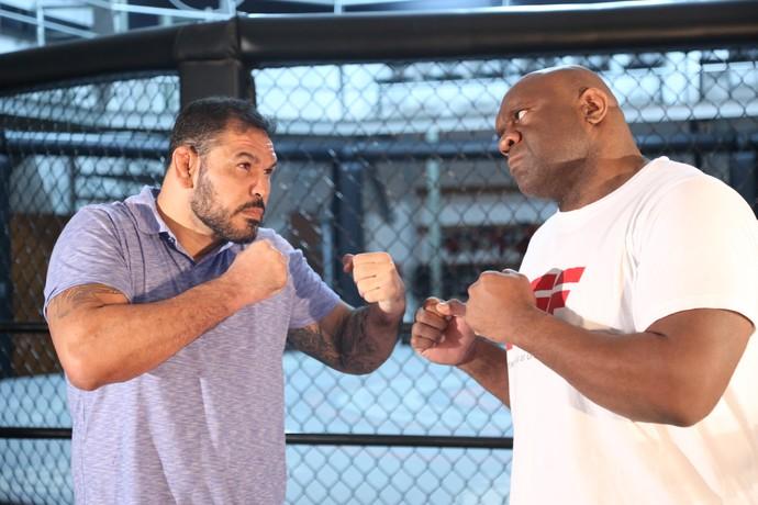 Rodrigo Minotauro, Bob Sapp, Sensei Combate (Foto: Divulgação)