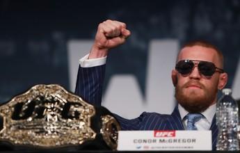 Conor McGregor admite abrir mão de um dos cinturões se vencer Alvarez