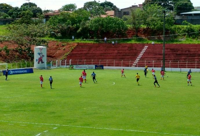 Tabajara x América, Airton Borges, Campeonato Amador de Uberlândia (Foto: Leandro Moreira)