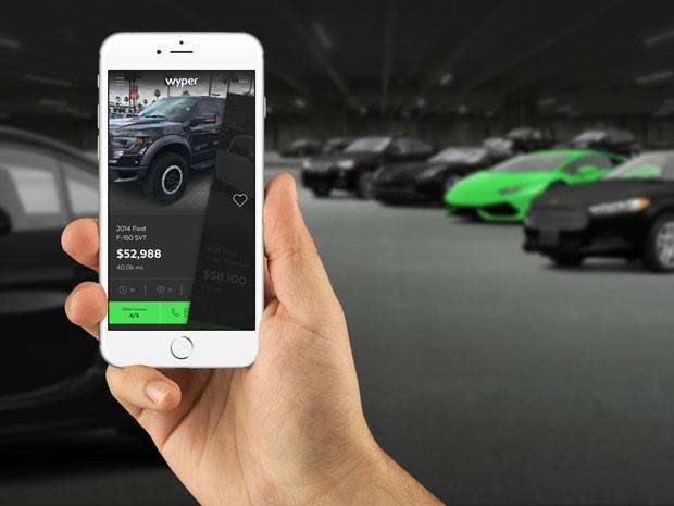 Aplicativo Wyper é chamado de Tinder dos carros (Foto: Divulgação)