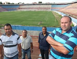 Edmar Heiler comissão América Rio Preto (Foto: Divulgação/América-SP)