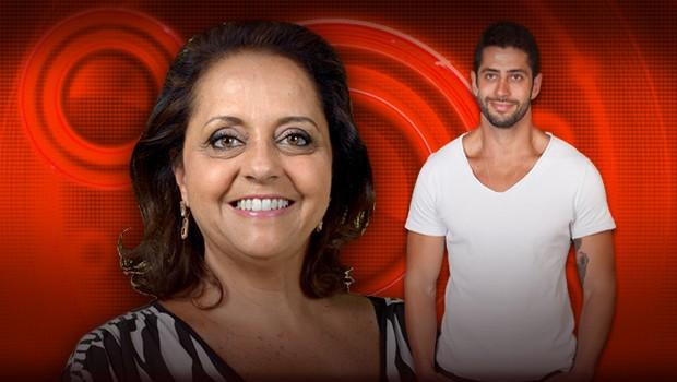 Leda, mãe de Marcelo, fala da relação com filho: 'Ele é muito amoroso'