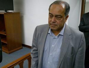 Virgílio Eliseo, diretor de competições da CBF, STJD (Foto: Vicente Seda / Globoesporte.com)