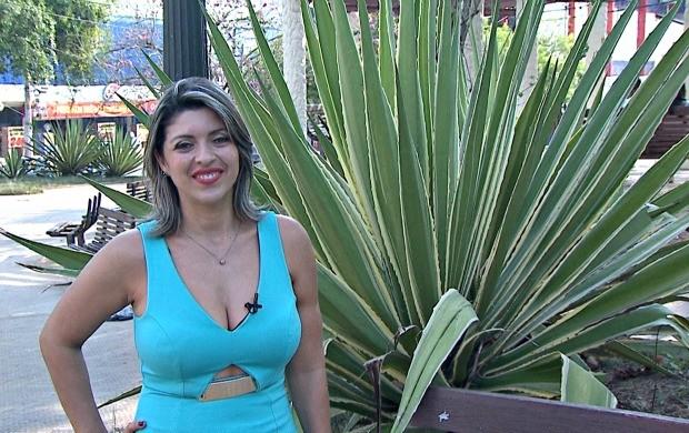 Elizânia Dinarte apresentou o Amazônia Revista durante quatro meses (Foto: Amazônia Revista)