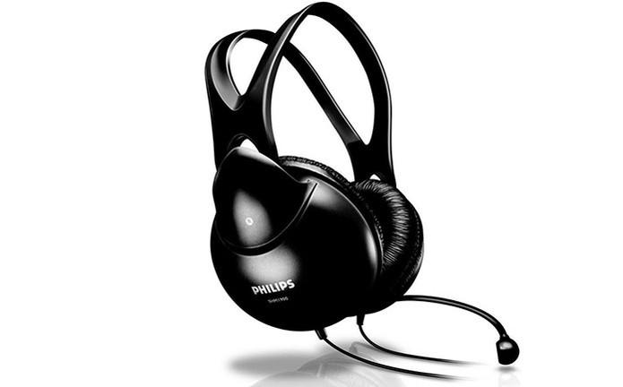Fone de ouvido SHM1900 da Philips com conchas acústicas (Foto: Divulgação/Philips)