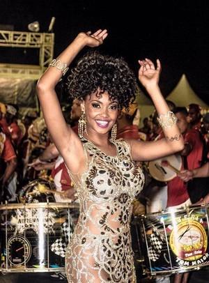 Rainha da Tom Maior (Foto: Arquivo Pessoal)