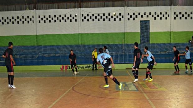 Divino FC de futsal, de Ariquemes, Rondônia (Foto: Eliete Marques/GLOBOESPORTE.COM)