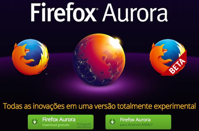 Instale o Firefox Aurora em seu computador (Foto: Reprodução/Helito Bijora)  (Foto: Instale o Firefox Aurora em seu computador (Foto: Reprodução/Helito Bijora) )
