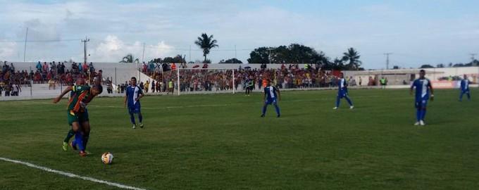 Sampaio vence Araioses por 2 a 0 no estádio Cardosão (Foto: Afonso Diniz / Globoesporte.com)