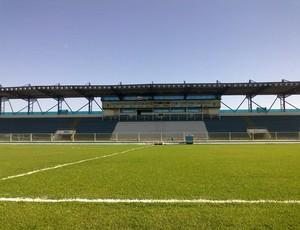 Estádio Cláudio Moacyr, o Moacyrzão, em junho de 2013 (Foto: Assessoria Moacyrzão/Divulgação)