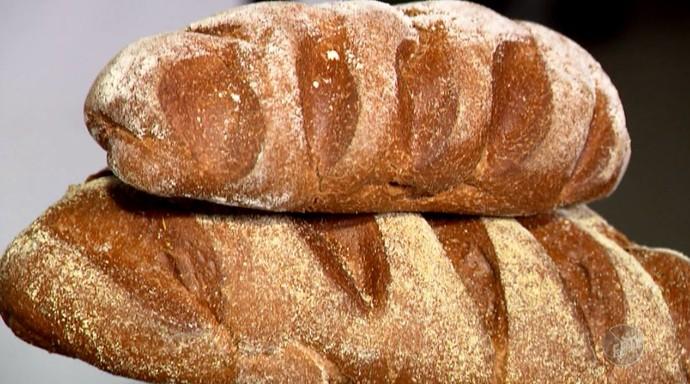 O pão australiano tem conquistado o lugar nas panificações brasileiras (Foto: reprodução EPTV)