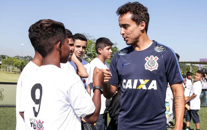 Jadson treino Corinthians (Foto: Daniel Augusto Jr/Ag. Corinthians)