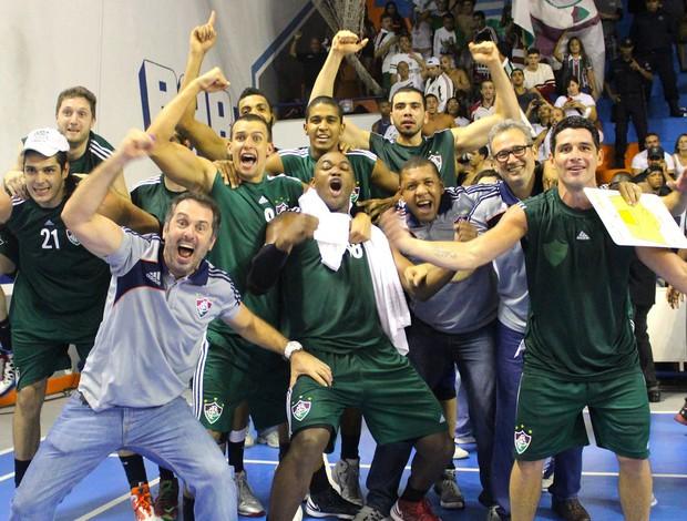 Basquete Fluminense x Macaé (Foto: Reprodução / Facebook)