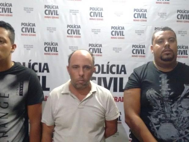 Criminosos já tinham passagens por estelionato e formação de quadrilha (Foto: Polícia Civil/Divulgação)