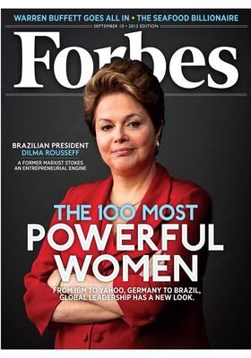 Capa da revista Forbes com a presidente Dilma Rousseff (Foto: Reprodução)