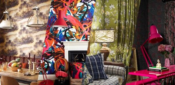 Estampas florais diferentes na decoração (Foto: Casa Vogue)