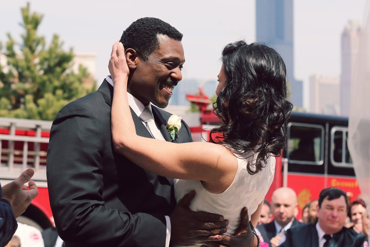 Casamento do chefe Boden (Foto: divulgao)