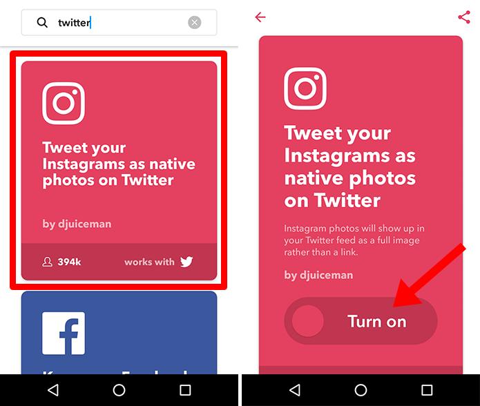 Ative a receita que envia suas fotos do Instagram para o microblog (Foto: Reprodução/Paulo Alves)