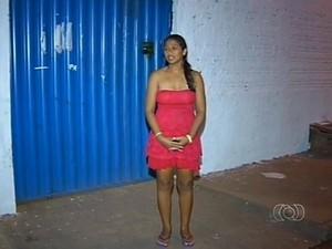 Comerciante diz que foi vítima de preconceito por causa da roupa que usava (Foto: Reprodução/TV Anhanguera)
