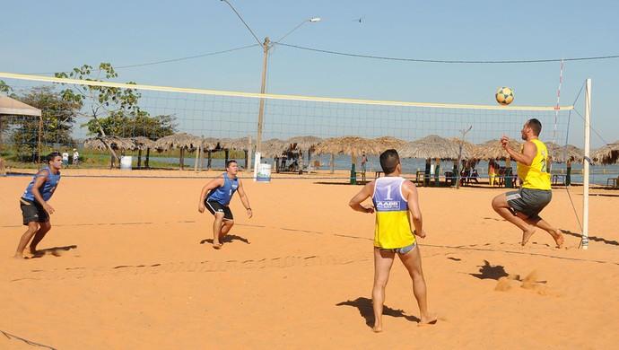 Copa Tocantinense de Futvôlei aconteceu na praia das Arnos (Foto: Valério Zelaya/Divulgação Fundesportes)