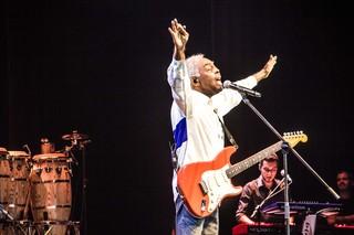 Gilberto Gil faz show beneficente (Foto: Veronica Pontes / Divulgação )