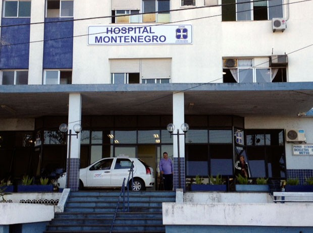 Hospital Montenegro (Foto: Alexandre dos Santos/RBS TV)