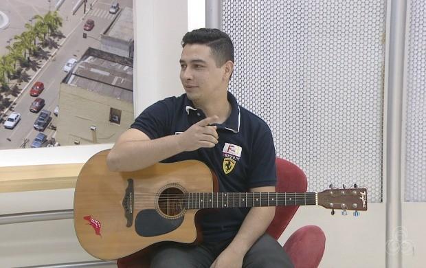Gabriel Rocha vai fazer pós-show da cantora Naiara Azevedo, nesta quinta-feira (27), em Rio Branco (Foto: Acre TV)