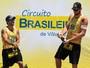 Contra o vento, pés no chão: Alison e Bruno miram Super Praia após título